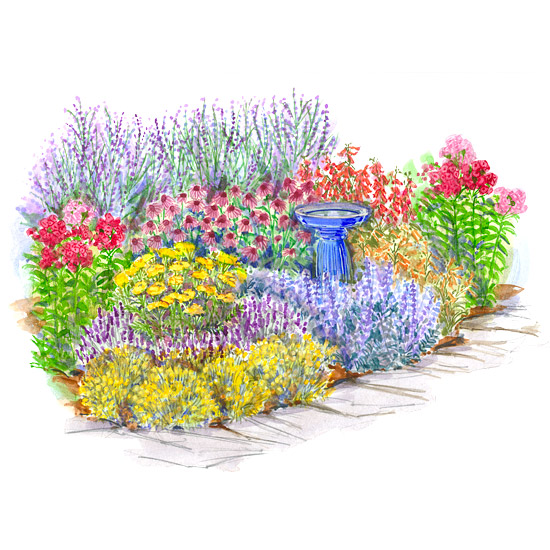 Spectacular Perennial Beds Part Two Of A Two Part Series